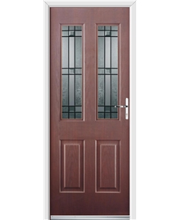 Ultimate Jacobean Rockdoor in Rosewood with Apollo