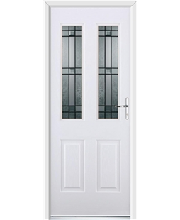 Ultimate Jacobean Rockdoor in White with Apollo