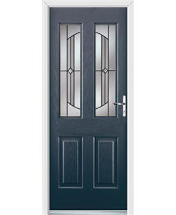 Ultimate Jacobean Rockdoor in Anthracite Grey with Ellipse