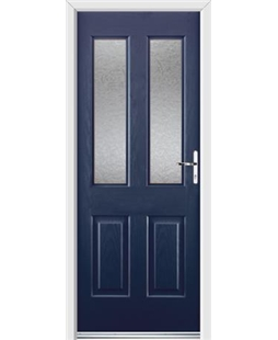 Ultimate Jacobean Rockdoor in Sapphire Blue with Gluechip