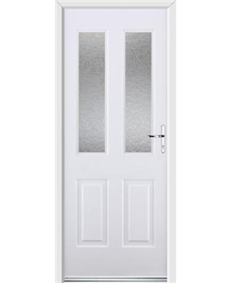 Ultimate Jacobean Rockdoor in White with Gluechip