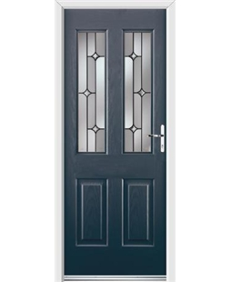 Ultimate Jacobean Rockdoor in Anthracite Grey with Linear