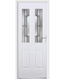 Ultimate Jacobean Rockdoor in White with Linear