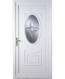 Middlesbrough Star Bevel uPVC High Security Door