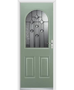 Ultimate Kentucky Rockdoor in Chartwell Green with Aquarius Glazing