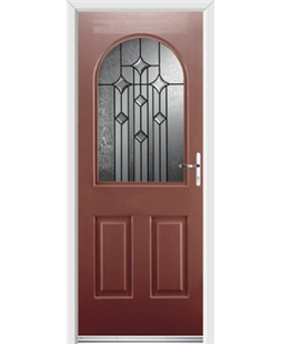 Ultimate Kentucky Rockdoor in Ruby Red with Aquarius Glazing