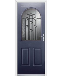 Ultimate Kentucky Rockdoor in Sapphire Blue with Aquarius Glazing