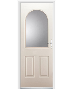 Ultimate Kentucky Rockdoor in Cream with Glazing