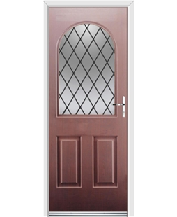 Ultimate Kentucky Rockdoor in Rosewood with Diamond Lead