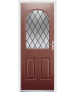 Ultimate Kentucky Rockdoor in Ruby Red with Diamond Lead