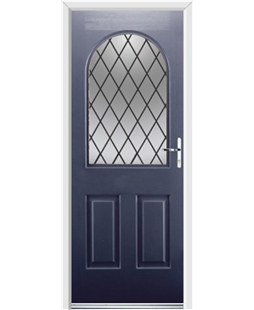Ultimate Kentucky Rockdoor in Sapphire Blue with Diamond Lead