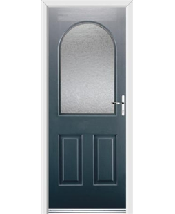 Ultimate Kentucky Rockdoor in Anthracite Grey with Gluechip Glazing