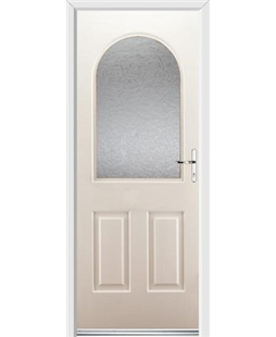 Ultimate Kentucky Rockdoor in Cream with Gluechip Glazing