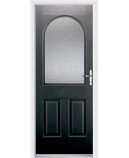 Ultimate Kentucky Rockdoor in Onyx Black with Gluechip Glazing