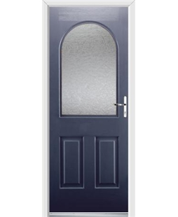 Ultimate Kentucky Rockdoor in Sapphire Blue with Gluechip Glazing