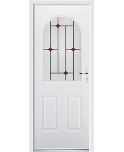Ultimate Kentucky Rockdoor in Blue White with Red Diamonds