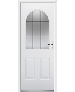 Ultimate Kentucky Rockdoor in Blue White with Square Lead