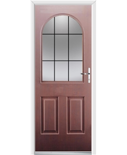 Ultimate Kentucky Rockdoor in Rosewood with Square Lead