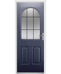 Ultimate Kentucky Rockdoor in Sapphire Blue with Square Lead