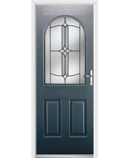 Ultimate Kentucky Rockdoor in Anthracite Grey with Summit Glazing