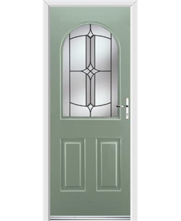 Ultimate Kentucky Rockdoor in Chartwell Green with Summit Glazing