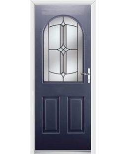 Ultimate Kentucky Rockdoor in Sapphire Blue with Summit Glazing
