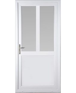 Kirkham Flat 2 Glazed uPVC Door