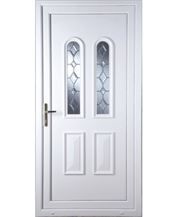 Northampton Bingley Bevel uPVC High Security Door
