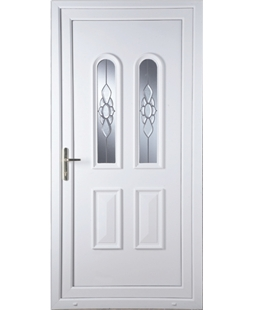 Northampton Ice Cluster uPVC Door