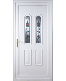 Northampton Queen Anne Rose uPVC High Security Door