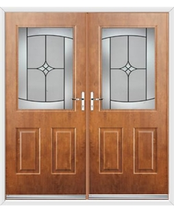Windsor French Rockdoor in Light Oak with Summit