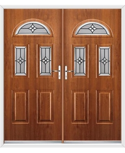 Tennessee French Rockdoor in Light Oak with Summit