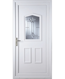 Oswestry Coventry Bevel uPVC Door