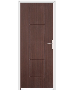 Ultimate Dakota Rockdoor in Mahogany