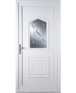 Portsmouth Bevel Cluster uPVC High Security Door