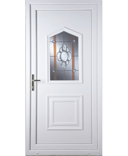Portsmouth Heaton Bevel Border uPVC High Security Door