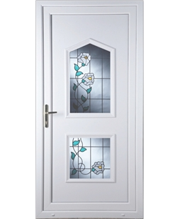 Portsmouth Primrose 2 Glazed Apertures uPVC High Security Door