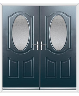 Montana French Rockdoor in Anthracite Grey with Gluechip