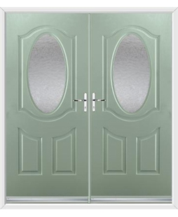Montana French Rockdoor in Chartwell Green with Gluechip