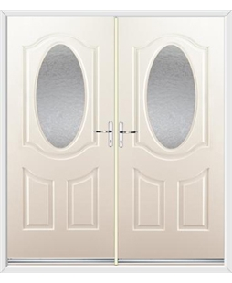 Montana French Rockdoor in Cream with Gluechip
