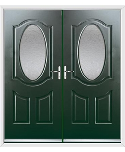 Montana French Rockdoor in Emerald Green with Gluechip