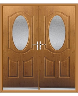 Montana French Rockdoor in Irish Oak with Gluechip