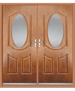 Montana French Rockdoor in Light Oak with Gluechip