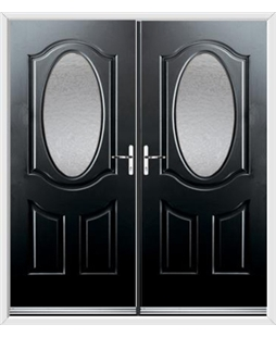Montana French Rockdoor in Onyx Black with Gluechip