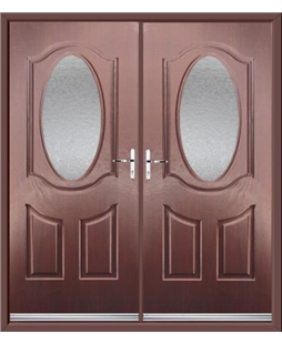Montana French Rockdoor in Rosewood with Gluechip
