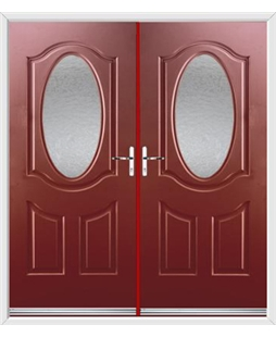 Montana French Rockdoor in Ruby Red with Gluechip