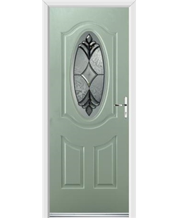 Ultimate Montana Rockdoor in Chartwell Green with Libra Glazing