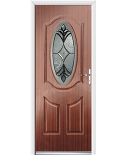 Ultimate Montana Rockdoor in Mahogany with Libra Glazing