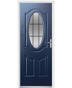 Ultimate Montana Rockdoor in Sapphire Blue with Square Lead