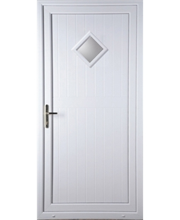 Torquay Diamond Glazed uPVC High Security Door